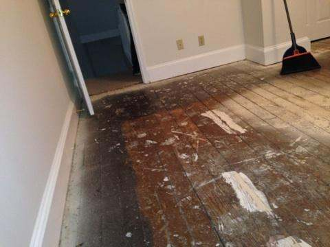Pine Floor Refinishing