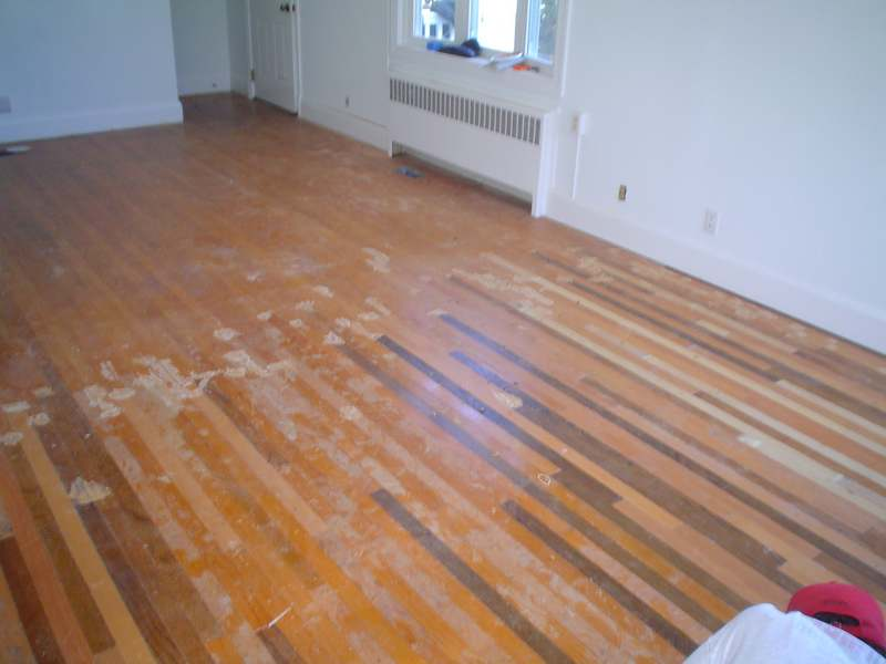Captivating Red Oak Floor Before · Red ...